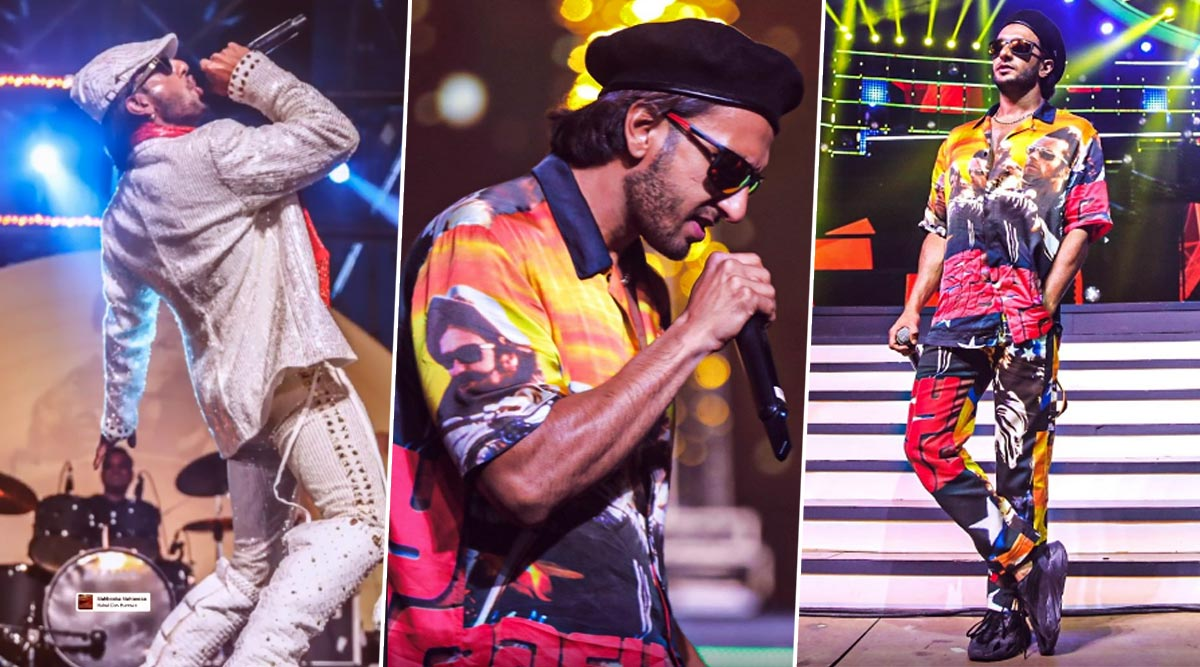 Filmfare Awards 2020: Ranveer Singh Gives a Glimpse from the Rehearsals, and It Looks FAB! (View Pics)