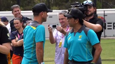 Ricky Ponting and Sachin Tendulkar in One Frame During Bushfire Cricket Bash, ICC Acknowledge Presence of 171 International Centuries in One Frame