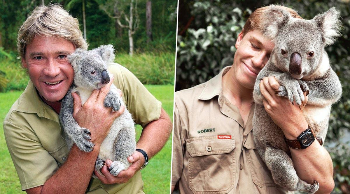 Robert Irwin Recreates His Father Steve Irwin's Photo With a Koala