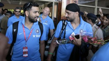 Harbhajan Singh Trolls Rohit Sharma, Comments 'Only 40 kg?' on Latter's Workout Video