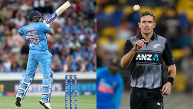 Rohit Sharma vs Tim Southee, Rishabh Pant vs Mitchell Santner and Other Exciting Mini Battles to Watch Out for During India vs New Zealand 5th T20I 2020 at Bay Oval