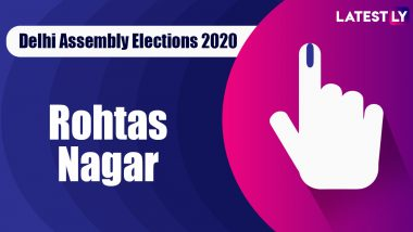 Rohtas Nagar Election Result 2020: BJP Candidate Jitender Mahajan Declared Winner From Vidhan Sabha Seat in Delhi Assembly Polls