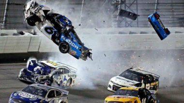 Ryan Newman Involved in Car Crash at Daytona 500, 'Injuries Not Life Threatening' Says NASCAR (Watch Video)