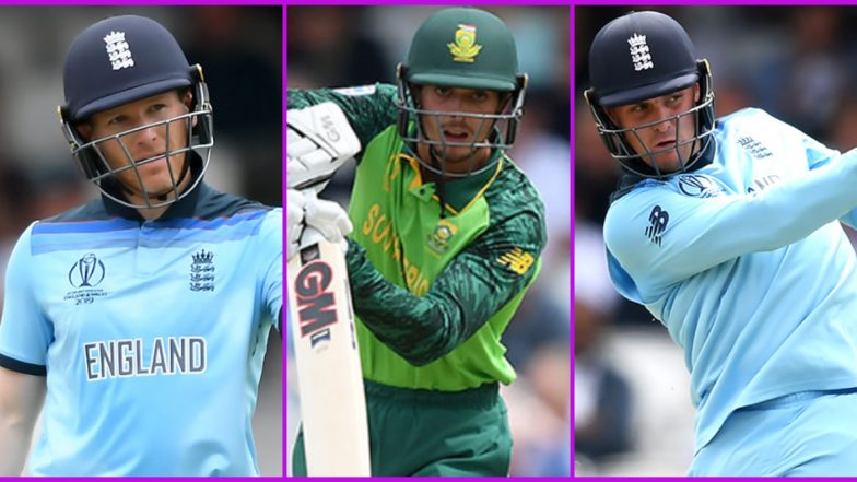 South Africa vs England ODIs 2020, Key Players: Eoin Morgan, Quinton de Kock, Jason Roy and Other Cricketers to Watch Out for in SA vs ENG Five-Match Series