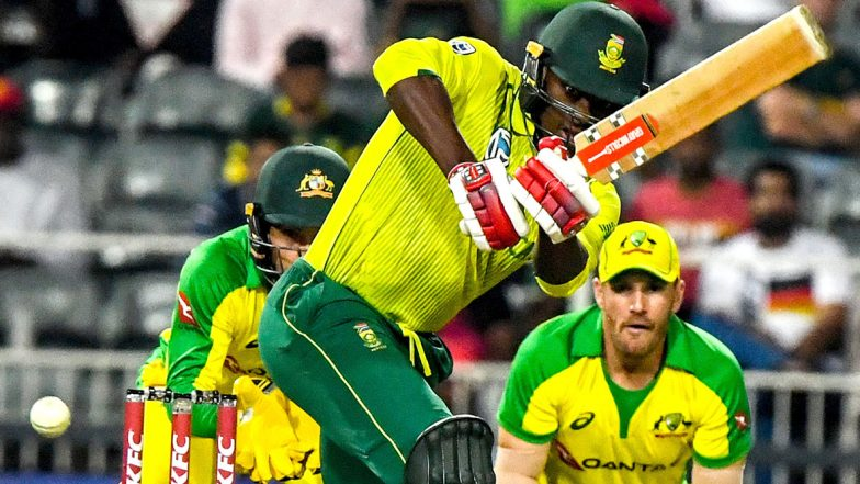 South Africa vs Australia 3rd T20I 2020 Live Streaming on SonyLiv: How to Watch Free Live Telecast of SA vs AUS on TV & Online in India