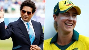 Sachin Tendulkar Accepts Ellyse Perry's Challenge; Master Blaster to Come Out of Retirement for an Over During Bushfire Cricket Bash