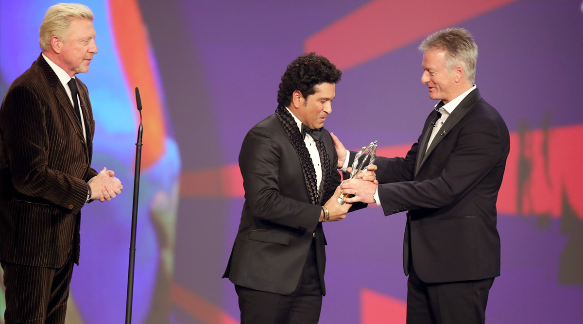 Laureus Sports Awards 2020: Sachin Tendulkar's Victory Lap Post India's 2011 World Cup Triumph Named Ultimate Sporting Moment of Last Two Decades