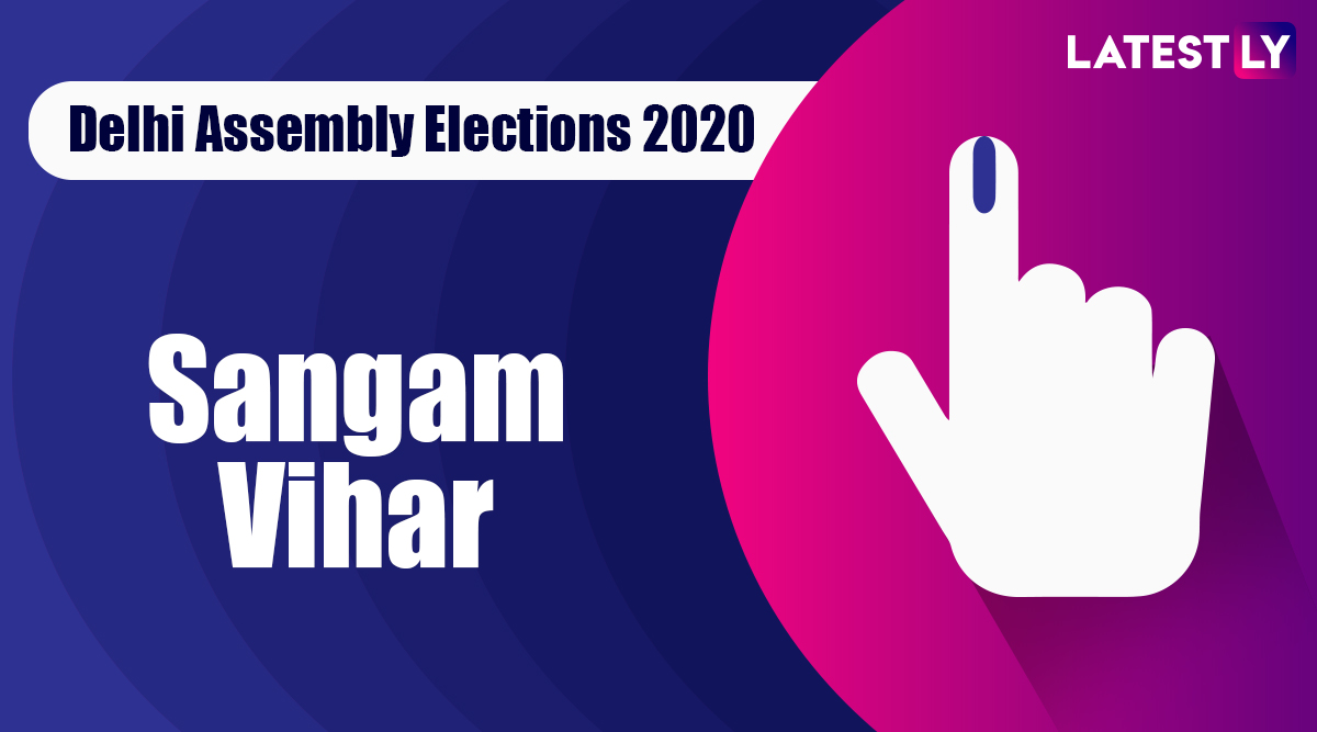 Sangam Vihar Election Result 2020: AAP Candidate Dinesh Mohaniya Declared Winner From Vidhan Sabha Seat in Delhi Assembly Polls