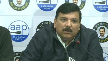 If Govt and Opposition Fight With One Another, When Will We Combat China, Says AAP Leader Sanjay Singh