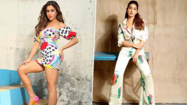 Sara Ali Khan, Why Be Just Fabulous When You Can Also Be a Unicorn and Wear Those Rainbow Colours!