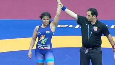 Asian Wrestling Championships 2020: India's Medal Rush Continues, Sarita Mor Seals Gold in Women's 59kg Category