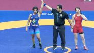 Sarita Mor Wins India's Third Gold Medal in Women's Category at 2020 Asian Wrestling Championship, Beats Mongolian Battsetseg Atlantsetseg