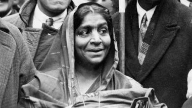 Sarojini Naidu 142nd Birth Anniversary: 6 Amazing Facts to Know About the 'Nightingale of India'