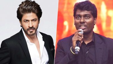 Shah Rukh Khan to Start Shooting in Summer 2020 for Atlee's Bollywood Directorial Debut?