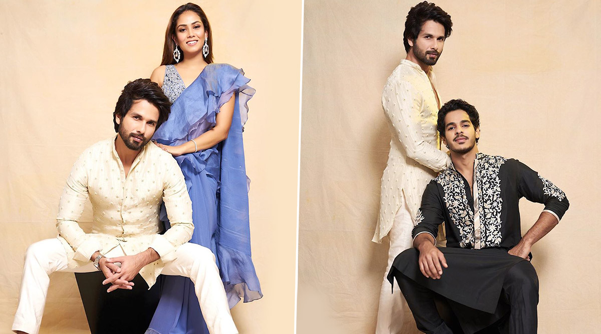 Happy Birthday, Shahid Kapoor! Wife Mira Rajput and Brother Ishaan Khatter Wish 'Kabir Singh' in the Most Adorable Way (View Pics)