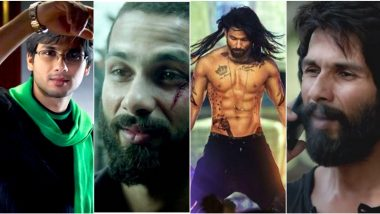 Shahid Kapoor Birthday: Aditya Kashyap, Haider, Kabir Singh and Other Characters Of The Actor That Are Worth-A-Watch!