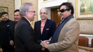 Shatrughan Sinha Meets Pakistan President Arif Alvi in Lahore