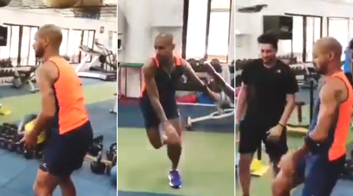 Shikhar Dhawan's Dancing Workout Video Is the Perfect Motivation to Join Gym (View Post)