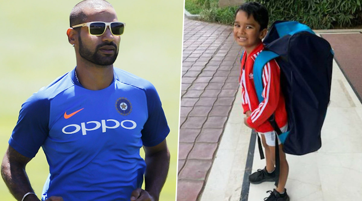 Shikhar Dhawan's Son Zoravar Aims to Carry Forward His Father's Legacy on Cricket Field, Indian Opener Showers Love and Blessings (See Post)