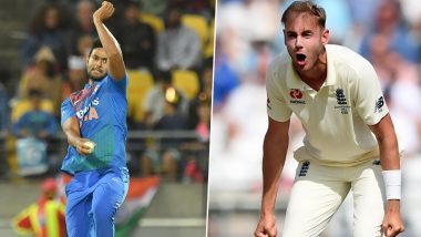 Did Stuart Broad Forget Yuvraj Singh's Blitzkrieg in 2007 T20 World Cup? See Pacer's Sarcastic Reply to ICC After Shivam Dube Bowls Second-Most Expensive T20I Over