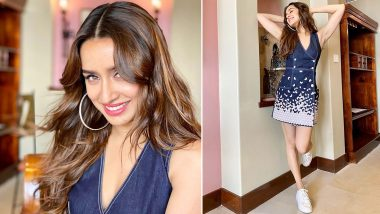 Shraddha Kapoor Has a Smile, Sparkle, Repeat Vibe With Her Cutesy Denim Dress for Baaghi 3 Promotions!