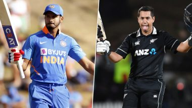 Shreyas Iyer, Ross Taylor Smash Hundreds in IND vs NZ 1st ODI Match, Register Rare Feat in One-Day Internationals