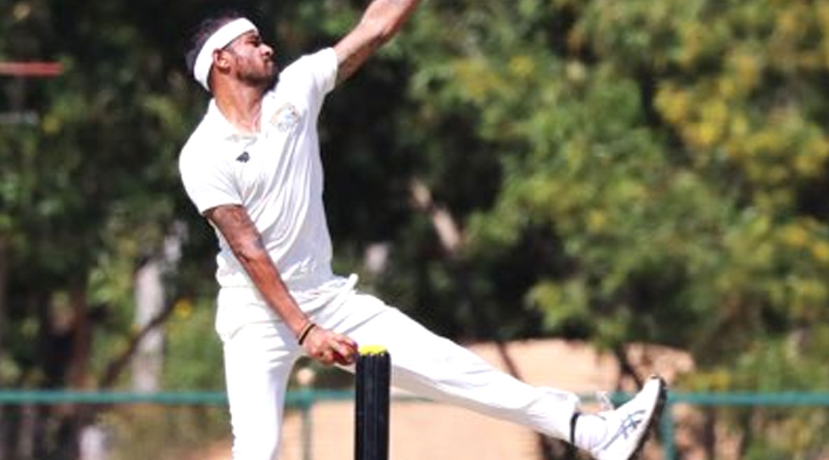 Siddarth Kaul Bags Hat-Trick During Punjab vs Andhra Pradesh Clash in Ranji Trophy 2019–20