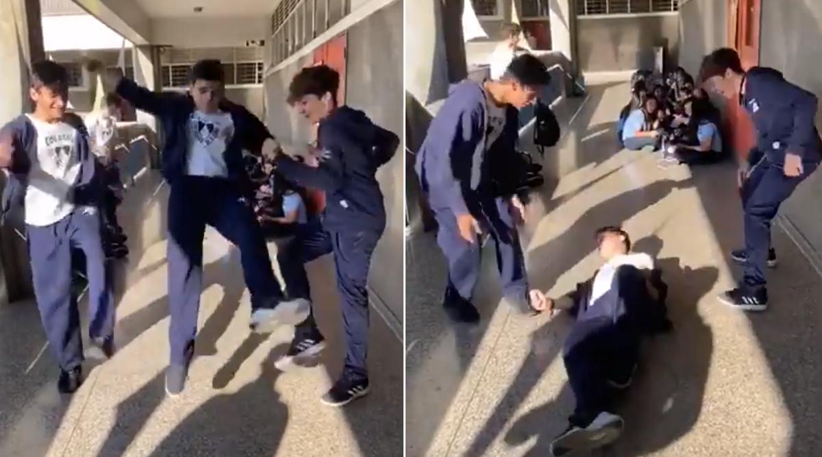 TikTok 'Skullbreaker Challenge' is Dangerous! New Viral Trend Can Break Your Head, Warn Experts (Watch Video)