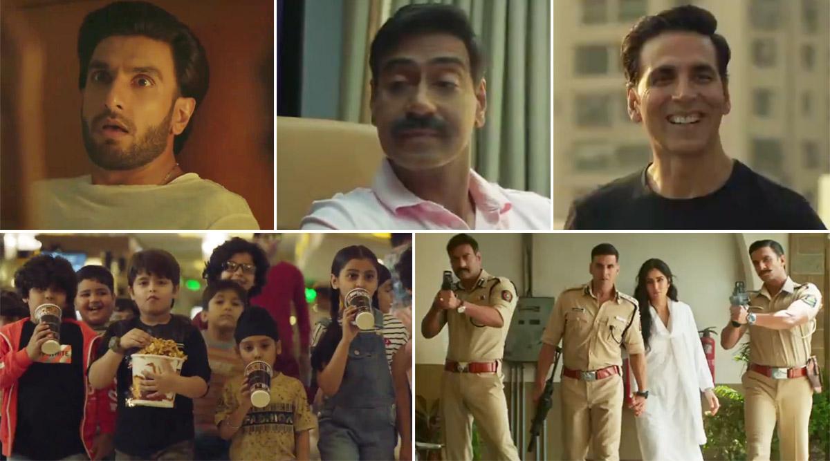 Sooryavanshi Gets a New Release Date! Akshay Kumar, Ranveer Singh, Ajay Devgn's Film to Now Hit the Big Screens on March 24, 2020 (Watch Video)