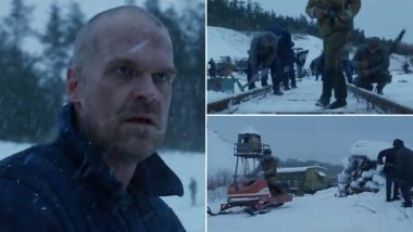Stranger Things 4 Teaser: David Harbour's Jim Hopper Returns from the Dead (Watch Video)
