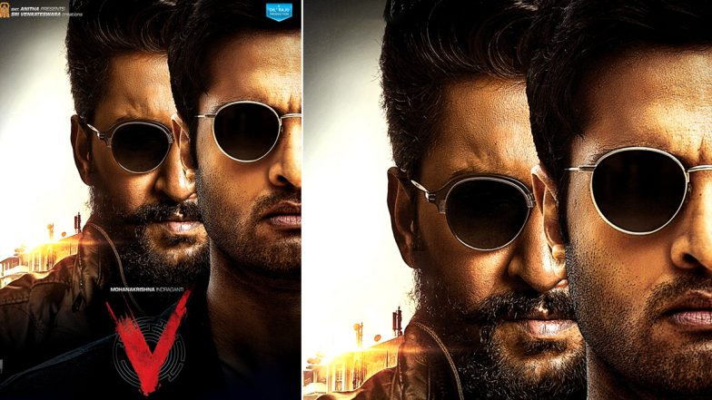 V: Sudheer Babu and Nani Look Intense and Intriguing In This Poster; Teaser to Release on February 17