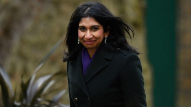 Indian-Origin Suella Braverman Sworn in as UK's New Attorney General