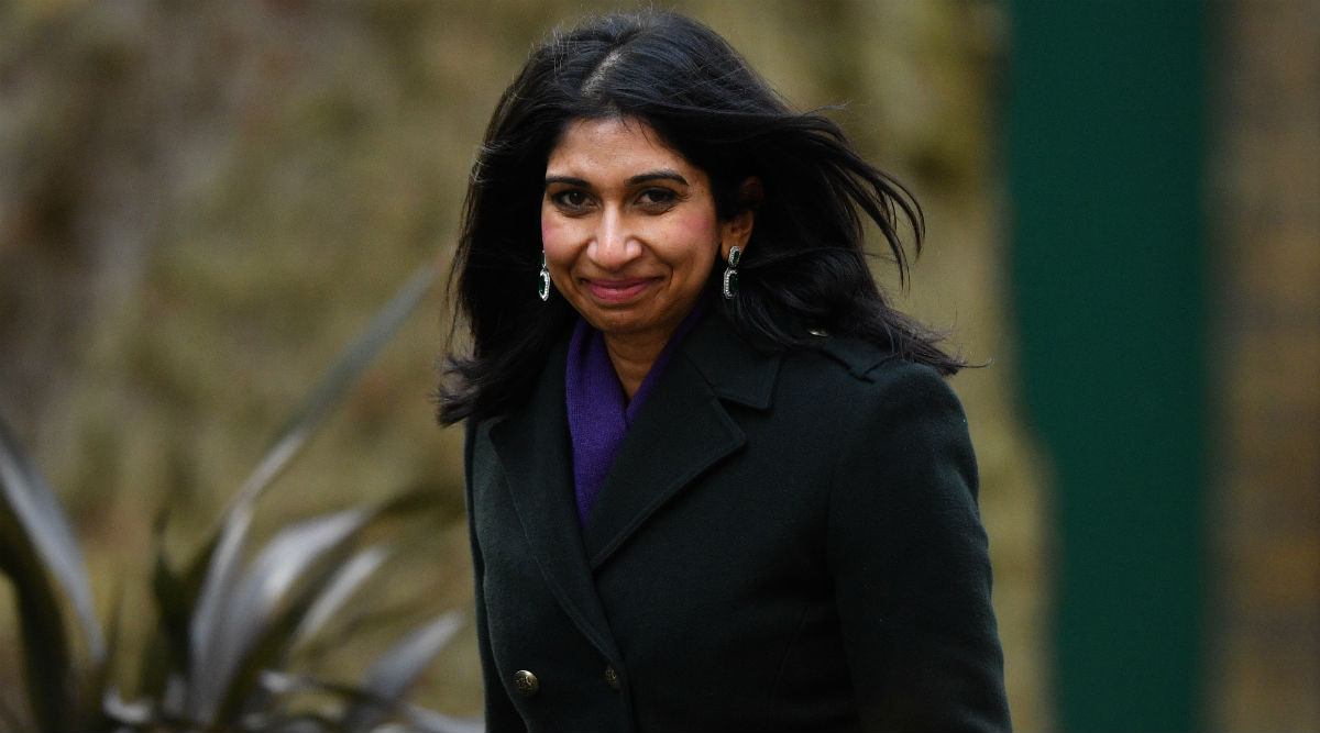 Indian-Origin Suella Braverman Sworn in as UK's New Attorney General