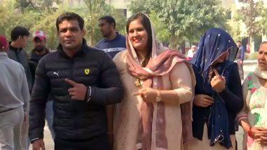Delhi Election 2020: Olympic Medalist Wrestler Sushil Kumar Casts Vote