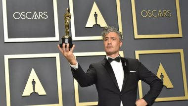 Taika Waititi Slams Apple's Keyboards During His Interaction Backstage After Oscars 2020 Win (Watch Video)