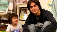 Kareena Kapoor Khan's Son Taimur Looking Admiringly At Malaika Arora's Boy Arhaan Khan Is Aww-dorable