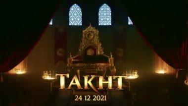 Takht: Karan Johar's Multi-Starrer Magnum Opus to Release on Christmas 2021