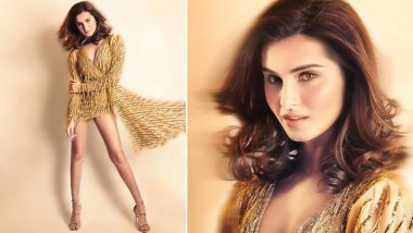 All That Glitters in Gold, Feathers and Sequins Is Tara Sutaria!