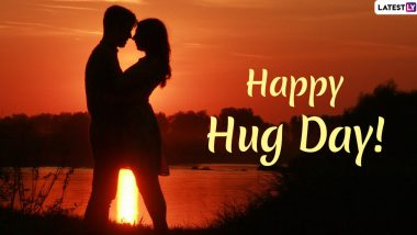 Happy Hug Day 2020 Greetings: WhatsApp Stickers, Hike GIFs, Romantic Messages, Quotes and SMS To Send To Your Partner