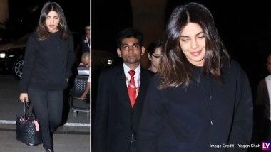 Priyanka Chopra Jonas Is All Smiles As She Heads Back to Bay (View Pics)