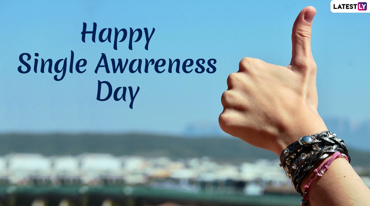 Happy Single Awareness Day 2020 Messages and Quotes: WhatsApp Stickers, Super Cool GIF Images and Greetings to Embrace Singlehood