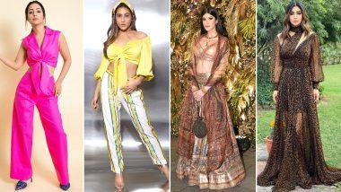 Sara Ali Khan, Mouni Roy and Hina Khan's Fashion Choices Go South This Week (View Pics)