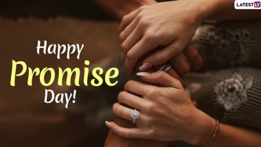 Promise Day 2020 Greetings in Hindi: WhatsApp Sticker Messages, Valentine's Day GIF Images, Romantic Quotes and Promises to Make to Your Partner