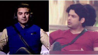 Bigg Boss 13: Tehseen Poonawalla Wants Siddharth Shukla to Win TheShow