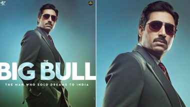 The Big Bull Poster: Abhishek Bachchan's New Look is Intense, Crime Drama To Release on 23 October 2020