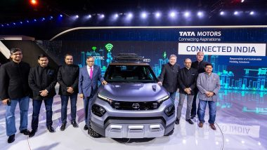 Auto Expo 2020: Tata HBX Concept, Sierra Electric, Harrier & Hexa Safari Edition Showcased at Delhi Motor Show