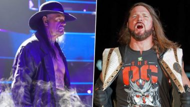 The Undertaker to Face AJ Styles at WrestleMania 36, Deadman to Fight Against The Phenomenal One for the First Time in WWE