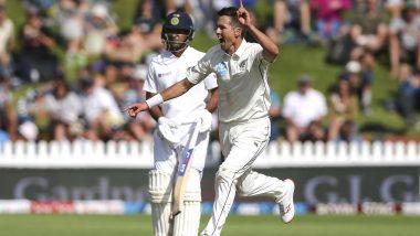 India vs New Zealand 1st Test 2020 Day 3: Trent Boult Removes Cheteshwar Pujara to Keep Kiwis Ahead at Wellington