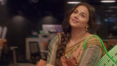 Vidya Balan Is Making the Most of Her Lockdown by Watching Old Movies with Family and Grooving on Evergreen Songs