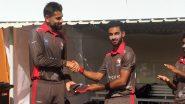 Live Cricket Streaming of United Arab Emirates vs Qatar, T20 2020 Online: Watch Free Live Telecast of ACC Western Region Series UAE vs QAT Semi-Final Match